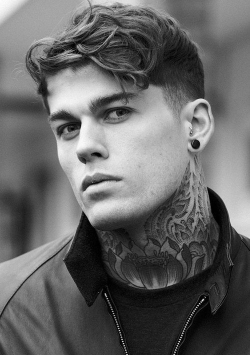stephen james hendry - Model - Talvez o modelo mais tatuado, mas nem por isso menos lindo.