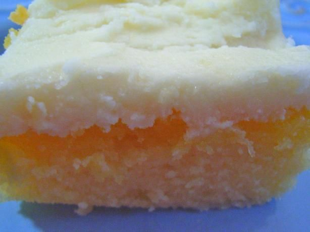 """Lemon Texas Cake from Food.com:   This is a very thin cake that is ready in no time at all.  Originally published in a cookbook titled """"Specialties of Indianapolis, Volume 2""""...wonder why it is called Lemon Texas Cake instead of Lemon Indiana Cake?  Regardless, it is a good lemon cake."""