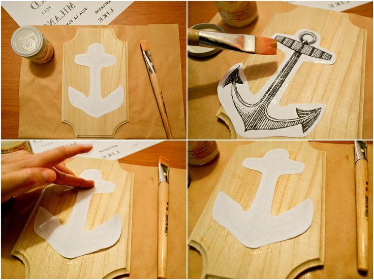 Transferir imagenes sobre madera tutorial decoupage - Transferir foto a madera ...