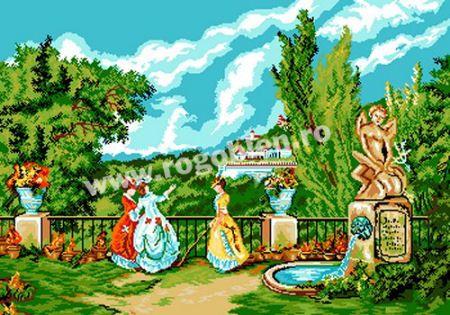 Cod produs 4.23 Castelul Marly Culori: 24 Dimensiune: 25 x 35cm Pret: 61.01 lei
