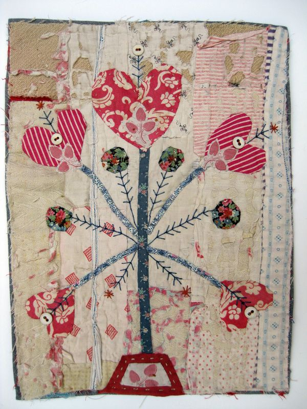 Mandy Pattullo | Hand Embellished Recycled Vintage Quilt | http://www.mandypattullo.co.uk/