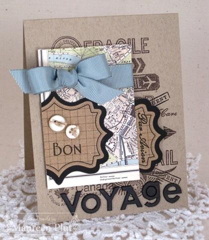 Awesome Bon Voyage card! :)