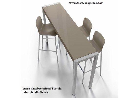 Barra mesa alta estrecha cumbre cancio mesa altas o for Table extensible 90x90