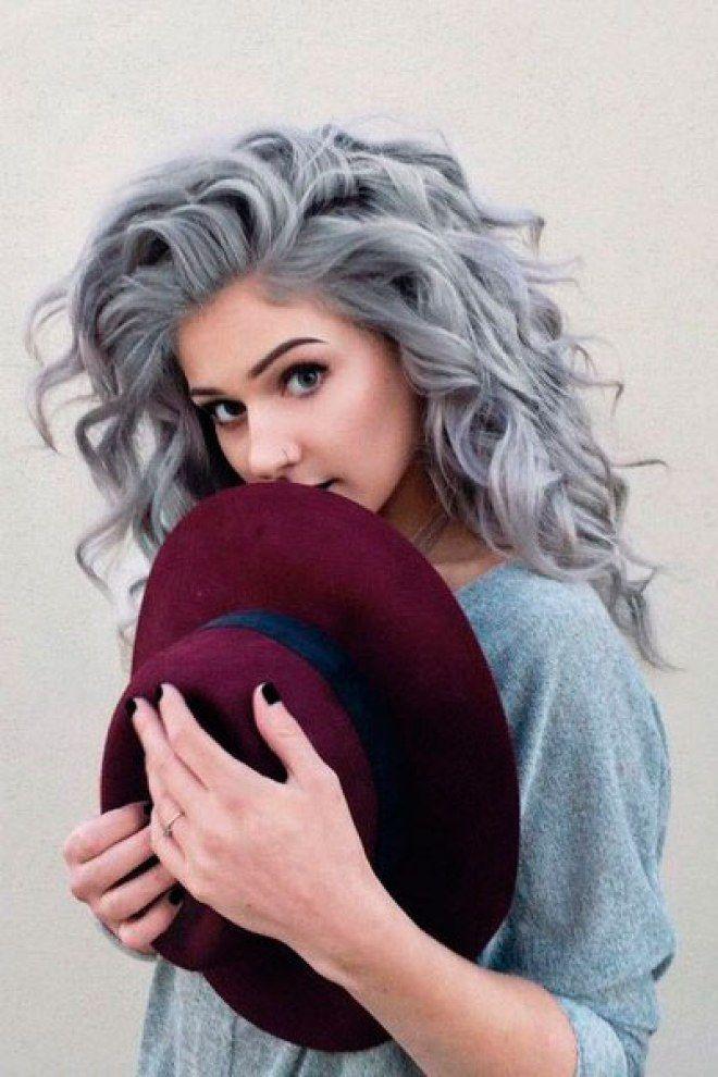 23 fotos do Pinterest que vão te convencer a pintar o cabelo de cinza                                                                                                                                                                                 Mais