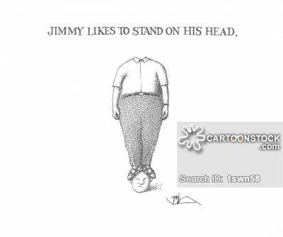 headstands cartoons headstands cartoon funny headstands