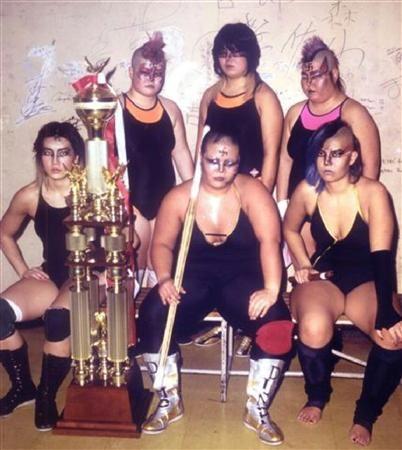 semensperms: Japanese Punk Female Wrestlers