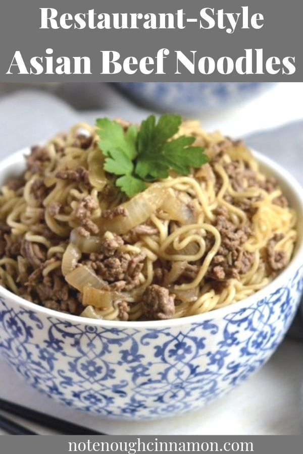 Asian Beef Noodles Quick Easy Affordable Not Enough Cinnamon Recipe Sweet And Spicy Sauce Beef And Noodles Recipes