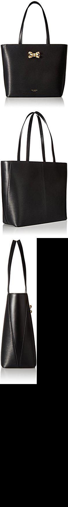 Ted Baker Leather Shopper Bag. Ted Baker Larah, Black.  #ted #baker #leather #shopper #bag #tedbaker #bakerleather #leathershopper