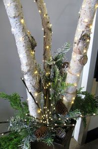 A must have for Christmas decorating... Battery Led on wired string wraps so…