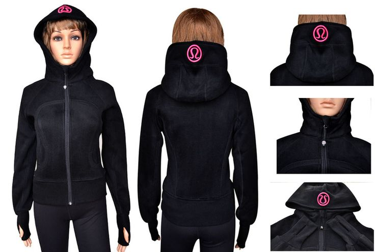 Black Friday Lululemon Sale Yoga Scuba Hoodies Black Online