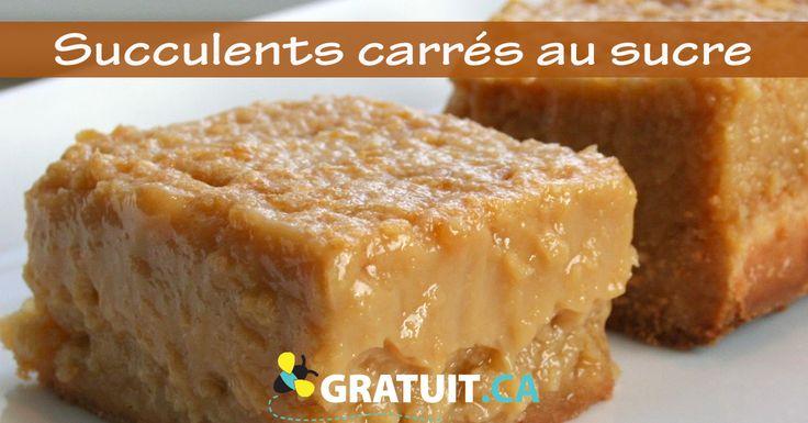 Entre la tarte au sucre et le sucre à la crème, cette recette impossible à rater sera un succès après des amies!
