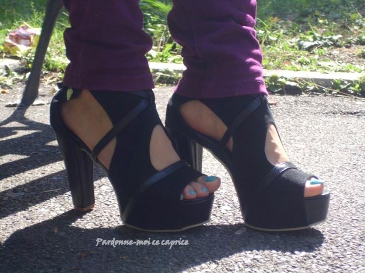 OOTD: Heels and hills | Pardonne-moi ce caprice