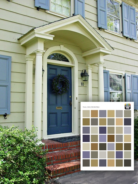 Painting your home soon check out color911 app to see the for Exterior house color app