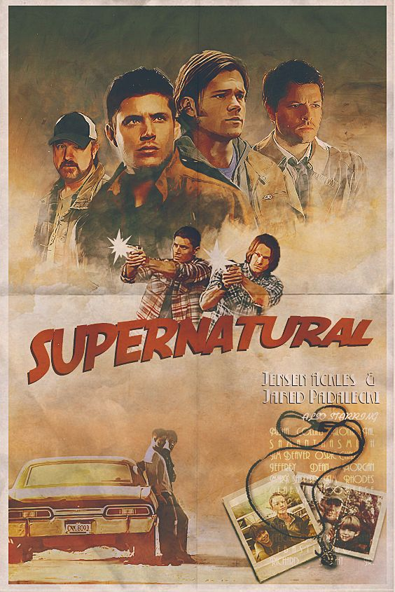 Supernatural<<<< I want this poster!