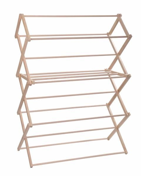 Pennsylvania Woodworks Extra Large Wooden Clothes Drying Rack (Made in the USA) Heavy Duty 100% Hardwood