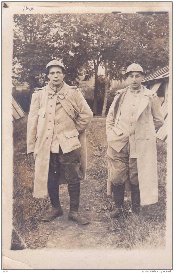 WWI, 1916. le 115e R.I. de ligne - Delcampe.net