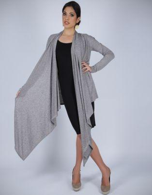Michelle Ludek Zoe Wrap Dress Black Grey