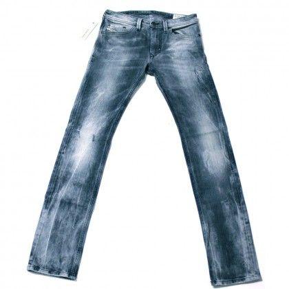 Diesel Thanaz 008L4 Slim-Skinny Jeans