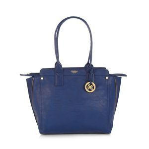 Fiorelli Navy zip side tote bag- at Debenhams Mobile