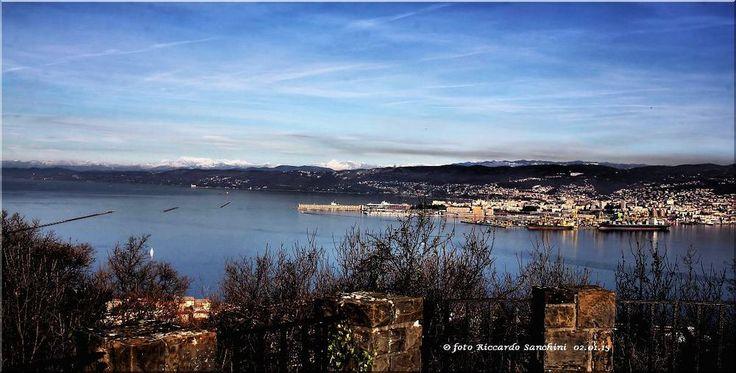 TRIESTE - Panorama da Muggia Vecchia di Riccardo Sanchini