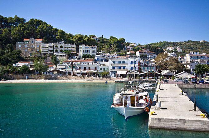 Agistri Island Patitiri village Sporades