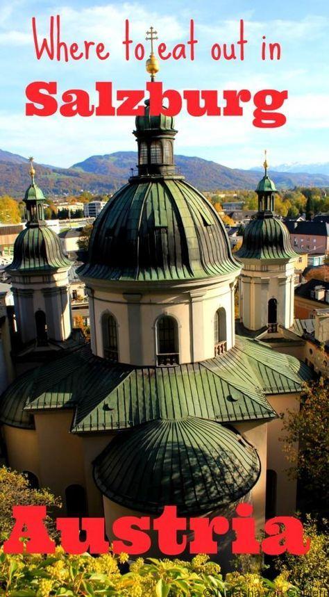 Top places to eat in Salzburg Austria