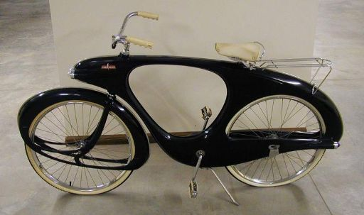 Space-Age Fiberglass Bicycle, Circa 1960