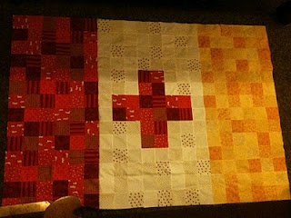 A quilt of the Kappa Alpha Order flag, thank you Pinterest for AJs next gift!