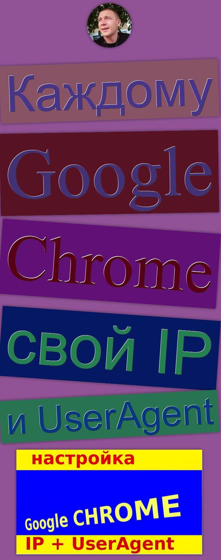Каждому Google Chrome свой IP и UserAgent Software (Industry), Proxy, изменение юзерагента, Google Chrome (Web Browser), конфиденциальность в сети, изменение IP, UserAgent, анонимность в интернете, IP, Google (Award Winner)