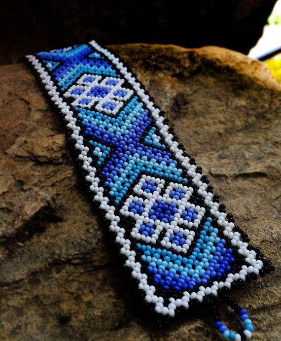 Huichol Bracelet by Niktee on Etsy, $25.00