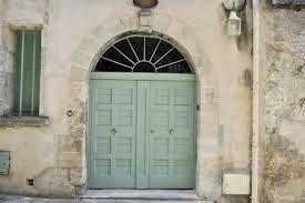 Door in Farrow & Ball Teresa's Green