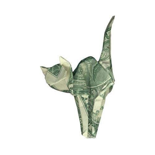 Origami: formas increibles billete de un dólar – Segunda Parte                                                                                                                                                     Más