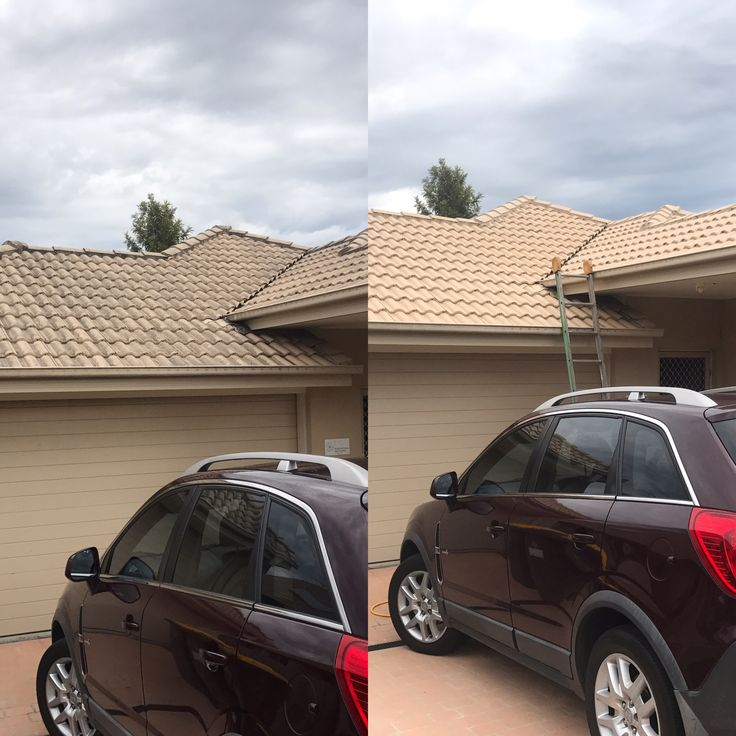 Roof cleaning Brisbane, Gold Coast by www.waterworxpressurecleaning.com.au