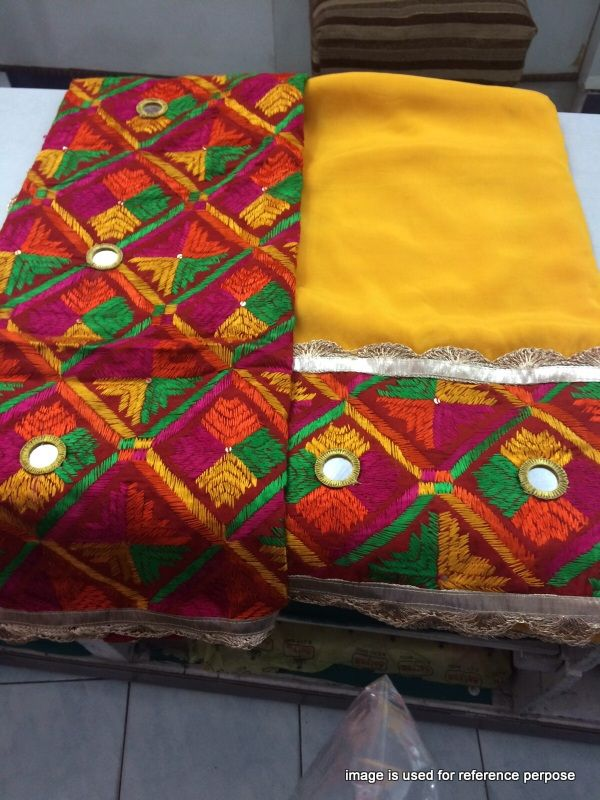 Beautifull Phulkari Dupatta we are providing Free Shipping In India, For…