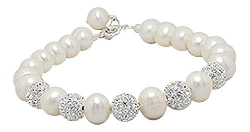 Cream 925 Sterling Silver Bracelet Beaded with Freshwater Pearls and Crystal Glass 8-8.5 inches 925e http://www.amazon.co.uk/dp/B019B6T4X2/ref=cm_sw_r_pi_dp_cfx7wb0QKCXJT