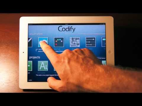 Codify: Make games for the iPad — on your iPad.