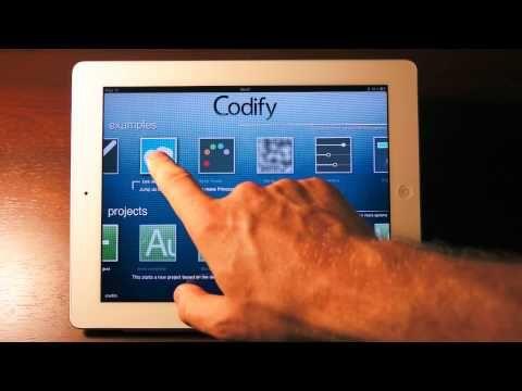 Codify: Make games for the iPad — on your iPad.