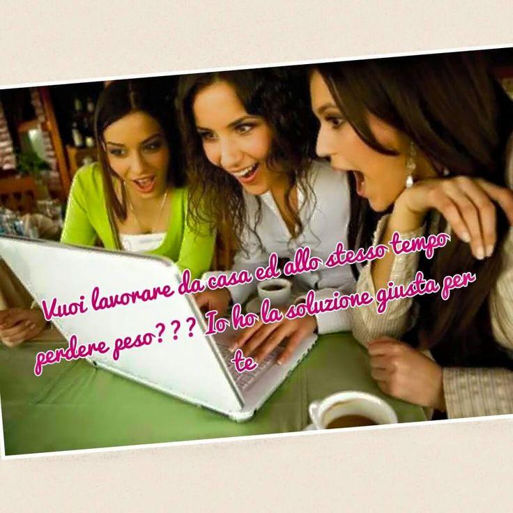 Puoi lavorare e dimagrire insieme, cosa vuoi di più!!! Chiedimi info!