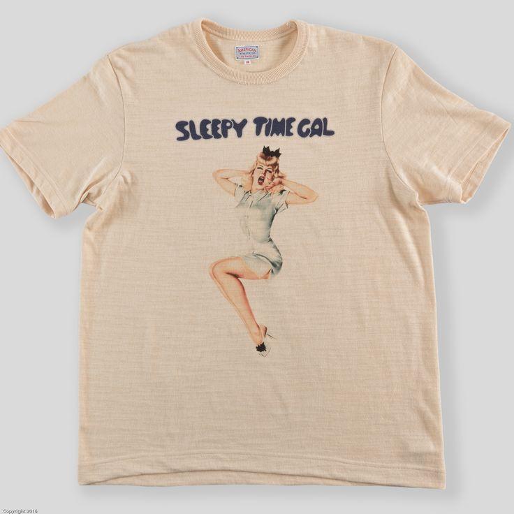 Vargas Girl Tee - Sleepy Time Gal