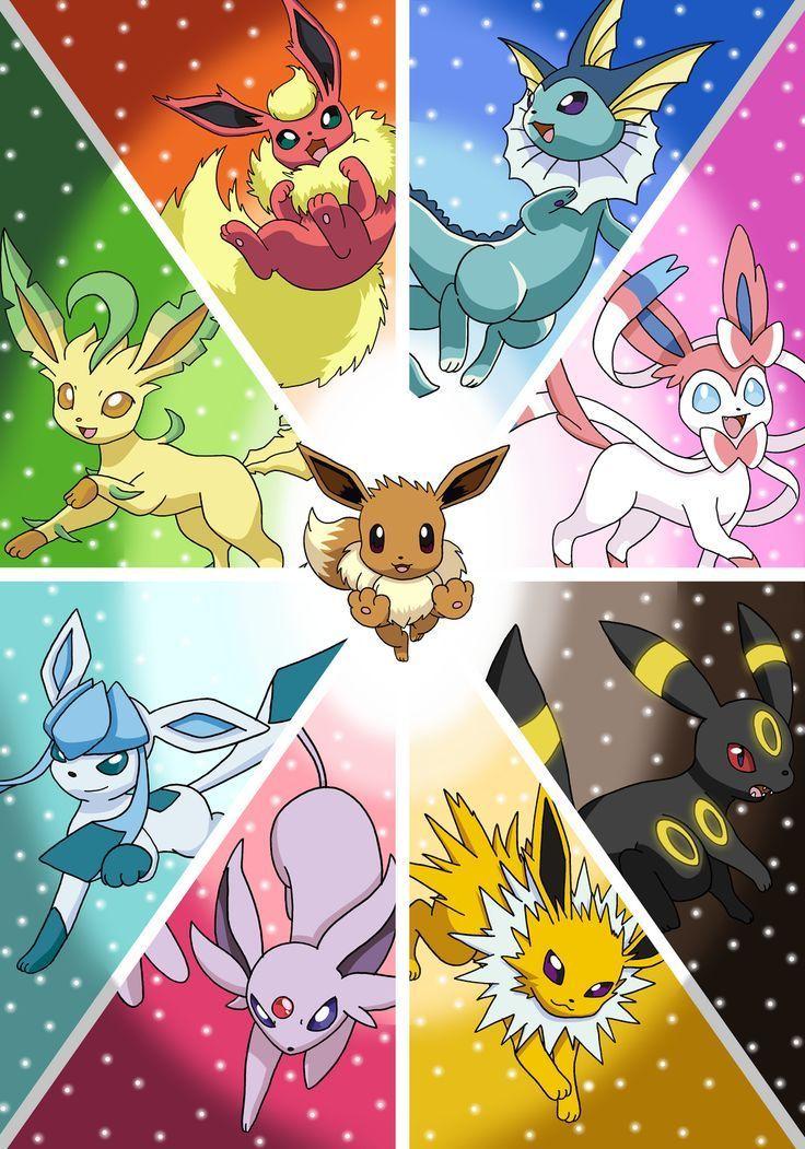 Eevee Pokemon Coloring Page Free Printable Coloring Pages Pokemon Malvorlagen Pokemon Ausmalbilder Pokemon Bilder