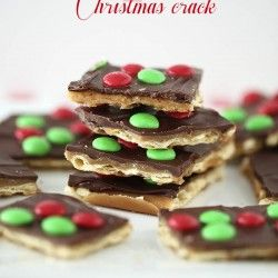 Christmas Crack saltine toffee on I Heart Nap Time