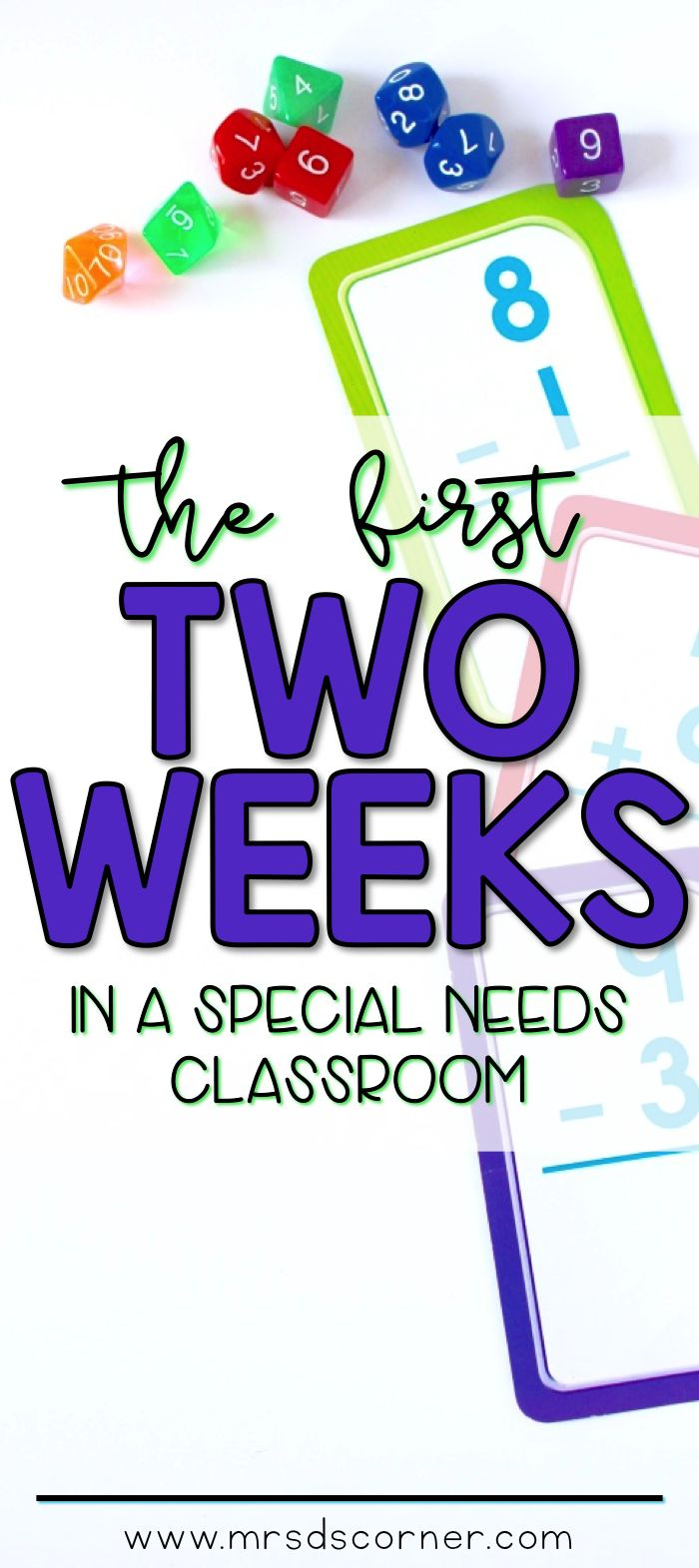 The first two weeks of schools are critical in any classroom... especially in a special needs classroom. We need to be on our game all. the. time - visual schedules ready, intentional and functional activities planned, and so much more than what actually gets written on our lesson plans. BLOG POST at Mrs. D's Corner.