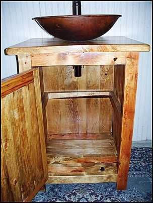 Photo Of Inside Cabinet Rustic Bathroom Vanity Rustic