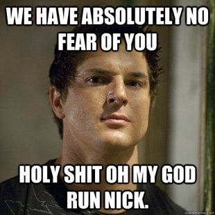 Ghost Adventures - love this show! They do  scream like little girls quite often after having provoked the spirits...lol