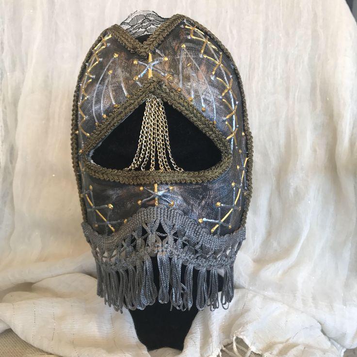 Venetian mask, bauta mask, Casanova mask, handmade mask, kinky mask, medieval mask, dark mask, leather mask, by EthnicDrops on Etsy https://www.etsy.com/listing/537953161/venetian-mask-bauta-mask-casanova-mask