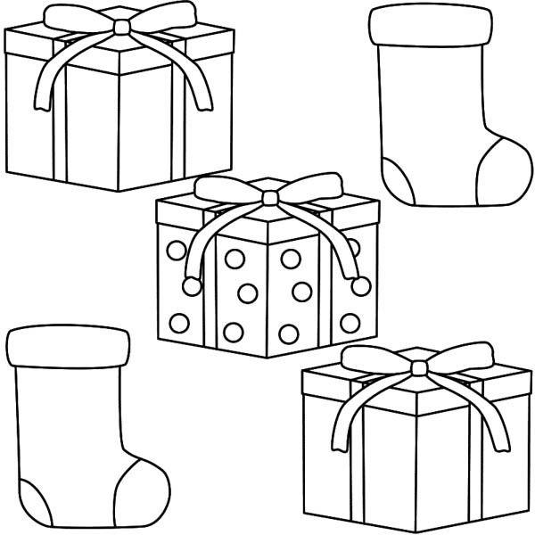 geschenke 7 ausmalbilder für kinder. malvorlagen zum