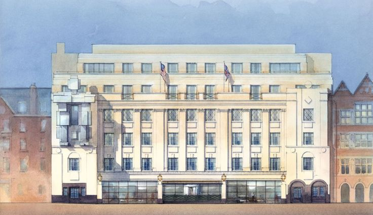LUX. The Beaumont Hotel on Brown Hart Gardens, London W1