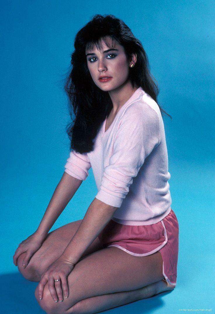 Demi Moore Vintage Retro Pinterest Actresses