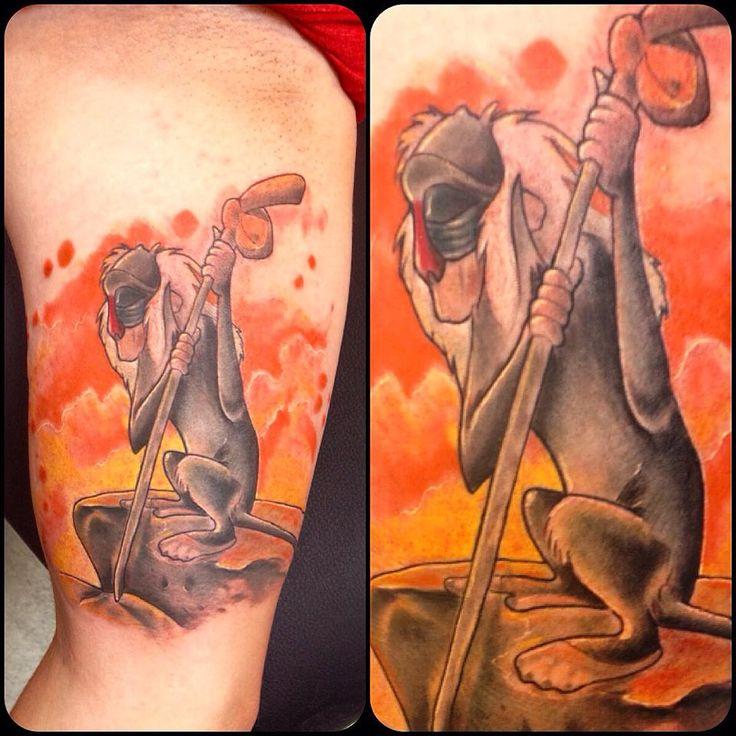 rafiki tatoo - Szukaj w Google | Lion king tattoo, King ...