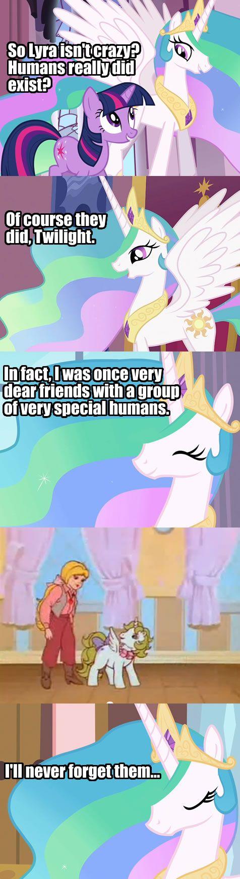 #214996 - alicorn, animation error, comic, g1, insane fan theory, megan, megan williams, princess celestia, princess surprise, safe, surprise, text, twilight sparkle - Derpibooru - My Little Pony: Friendship is Magic Imageboard